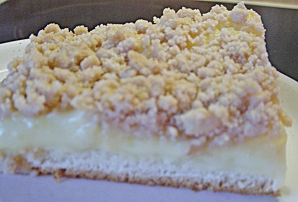 Pudding Streusel Kuchen