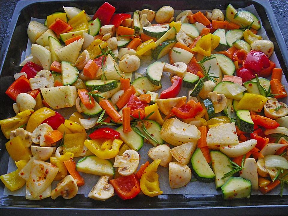 Grillgemüse Salat Von Jaenelle Chefkochde