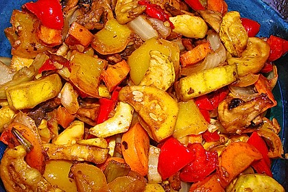 Grillgemüse - Salat 19