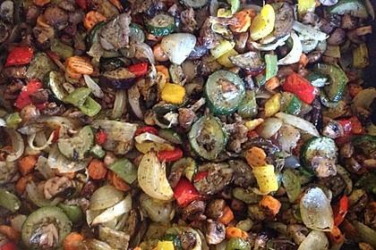 Grillgemüse - Salat 17