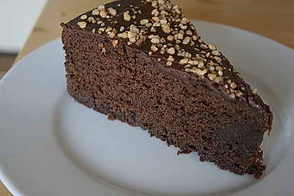 Amerikanischer Schokoladenkuchen 1