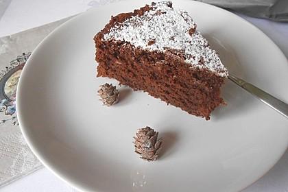 Amerikanischer Schokoladenkuchen
