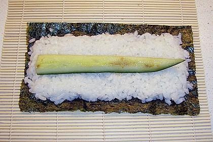 Gerollte Sushi (Makizushi) 6