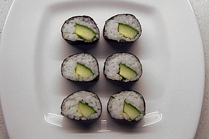 Gerollte Sushi (Makizushi) 3