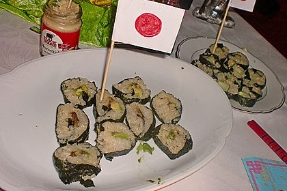 Gerollte Sushi (Makizushi) 7