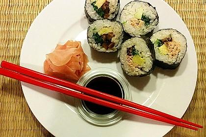 Gerollte Sushi (Makizushi) 2