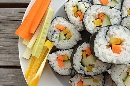 Gerollte Sushi (Makizushi) 1