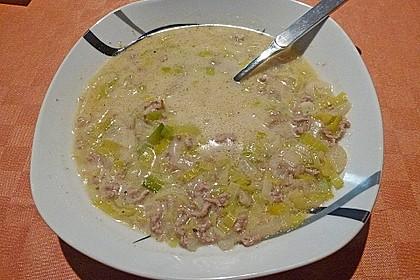 Porree - Käse - Suppe 1
