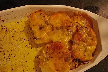 Leichtes Kartoffelgratin 4
