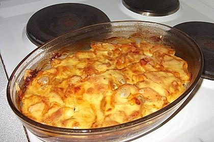 Leichtes Kartoffelgratin 1