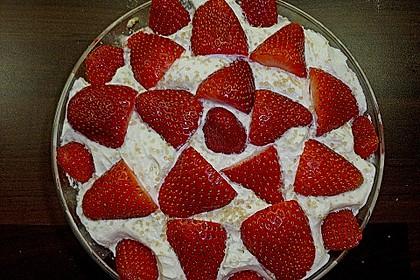 Erdbeer - Löffelbiskuit Nachtisch 9