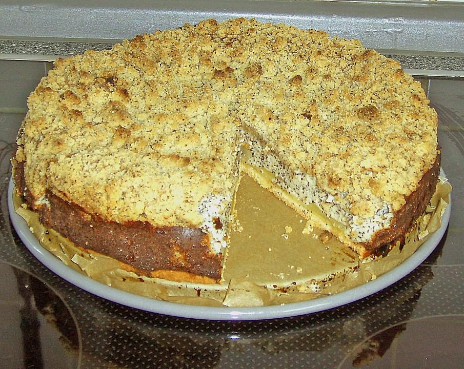 Mohn Apfelkuchen Mit Streusel Von Hirlitschka Chefkoch De