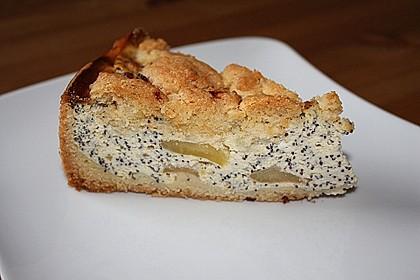 Mohn - Apfelkuchen mit Streusel 2