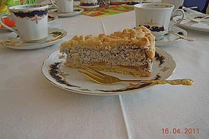 Mohn - Apfelkuchen mit Streusel 15