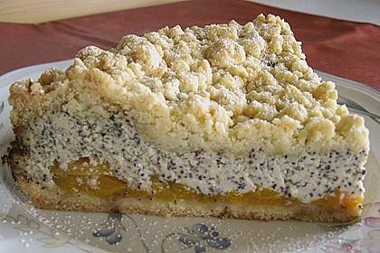 Mohn - Apfelkuchen mit Streusel 16