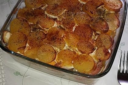 Dis herzhafter Kartoffel-Eier-Auflauf