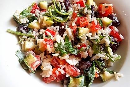 Zucchini-Reis-Salat 1