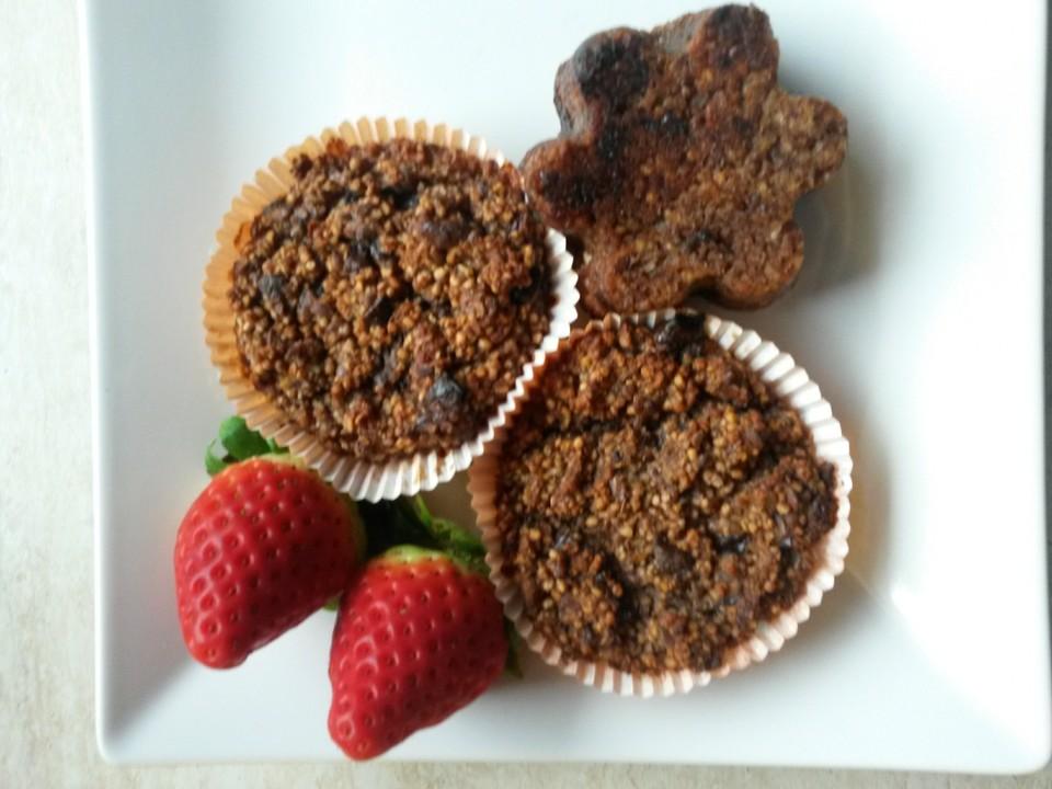 Gesunde Schoko Bananen Quinoa Muffins Von Mrsflury Chefkoch De