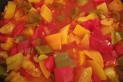 Zucchini-Paprika-Pfanne (Bild)