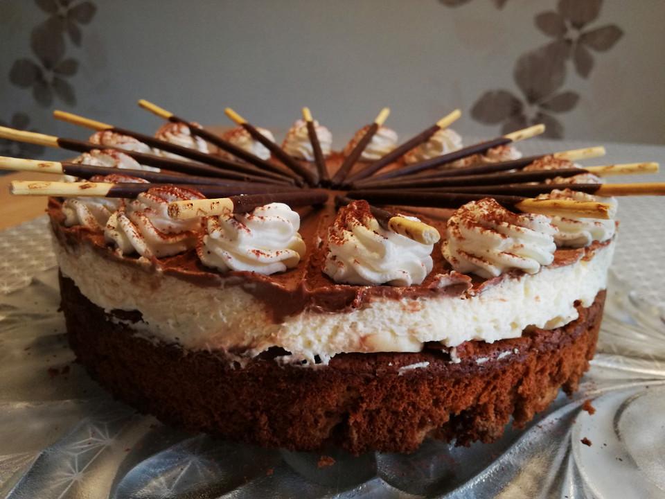 Schoko Bananen Torte Von Celine56 Chefkoch