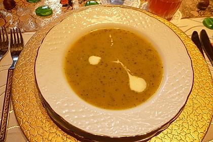 Zucchini-Orangen-Cremesuppe 1