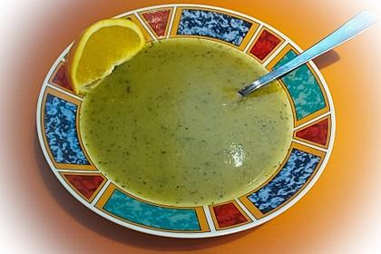 Zucchini-Orangen-Cremesuppe 2