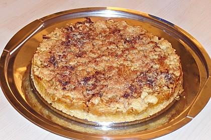 Knusprige Apfel-Streusel-Tarte (Bild)