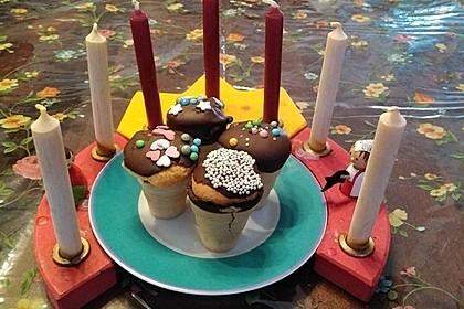 Mini Muffins im Becher 8