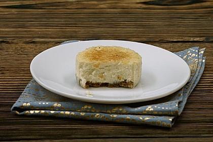Mini Crème brûlée-Cheesecake