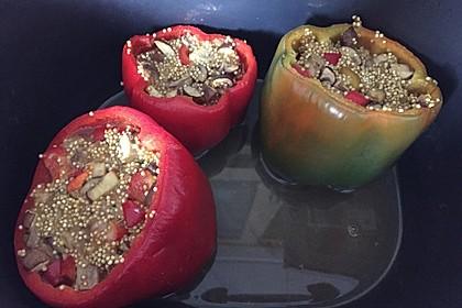 Geschmorte Paprika mit Quinoa und Pilzen 1