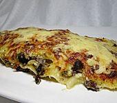 Blutwurst-Lasagne (Bild)