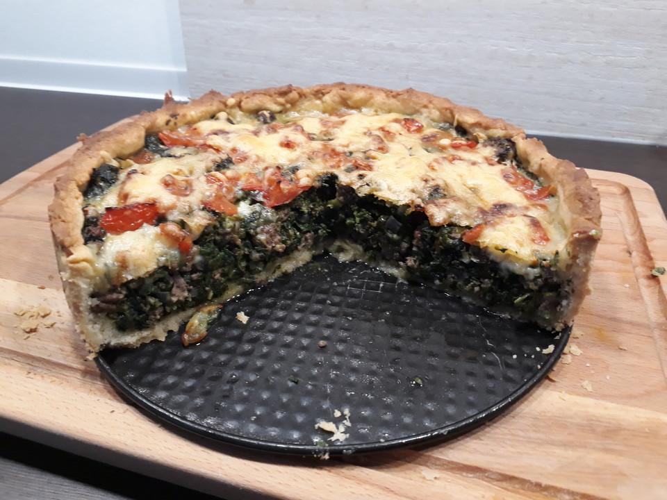 Spinat Hackfleisch Kuchen Von Zuiko Chefkoch De