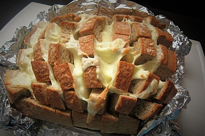 Käse-Knoblauch-Brot