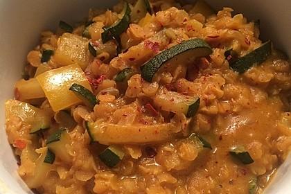 Linsen-Curry mit Kokosmilch 1