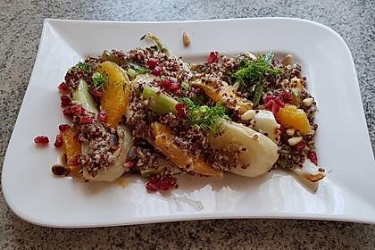 Quinoa-Salat mit Fenchel und Orangen 1