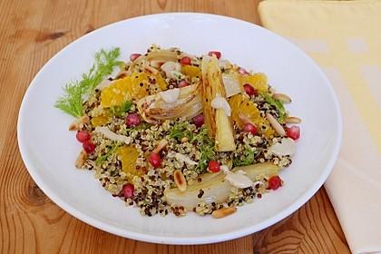 Quinoa-Salat mit Fenchel und Orangen