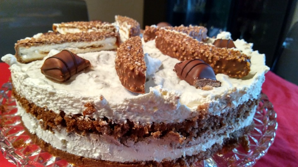 Ferrero Kinder Torte Light Von Nasch Axel Chefkoch De
