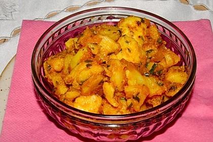 Marokkanischer Kartoffelsalat