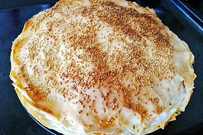 Türkischer nasser Börek