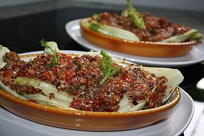 Fenchelgemüse mit Tomaten-Knoblauch-Kruste 1