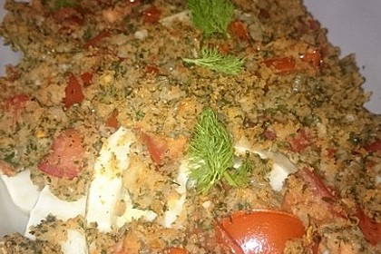 Fenchelgemüse mit Tomaten-Knoblauch-Kruste 9