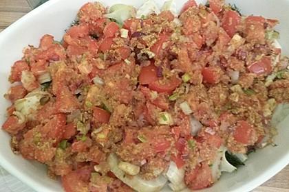 Fenchelgemüse mit Tomaten-Knoblauch-Kruste 8