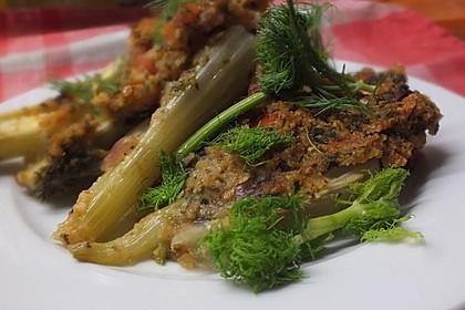 Fenchelgemüse mit Tomaten-Knoblauch-Kruste 5