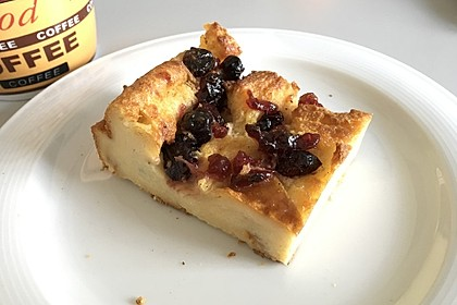 Brioche-and-Butter-Pudding mit Zimtkruste 3