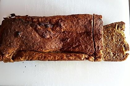 Kürbis-Bananen-Brot 2