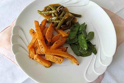 Gebackene Süßkartoffel-Pommes-Frites 8