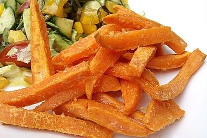 Gebackene Süßkartoffel-Pommes-Frites 9