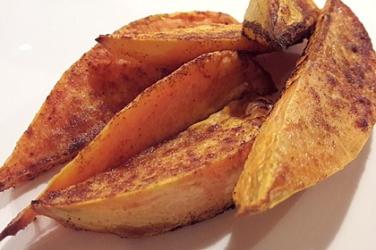 Gebackene Süßkartoffel-Pommes-Frites 5