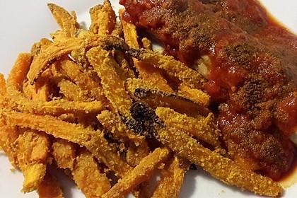 Gebackene Süßkartoffel-Pommes-Frites 4