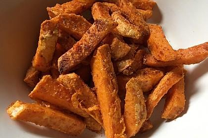 Gebackene Süßkartoffel-Pommes-Frites 6
